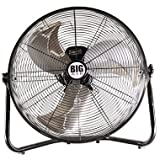 New BIG AIR 20'' Floor Fan High Velocity Portable Tilt Air Mover 3 Speed Stand