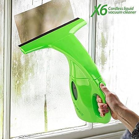 X6 Cordless Liquid Vacuum Mini Aspirador Limpiacristales, Verde ...