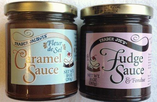 Trader Joe's Combination Pack of Fudge Sauce/Fondue and Caramel Sauce (Caramel Fondue)