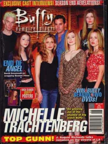 Download Buffy The Vampire Slayer Magazine June 2002 Michelle Trachtenberg Feature ebook