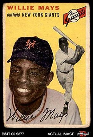 Amazoncom 1954 Topps 90 Willie Mays New York Giants