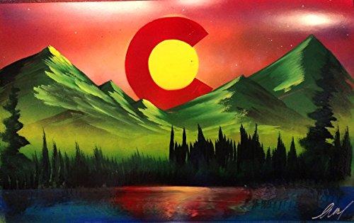 Colorado Nature- Spray Paint - Colorado Denver Malls