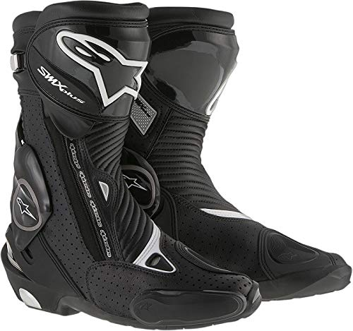 Alpinestars Mens SMX Plus Vented Boot (Black, EU 47)