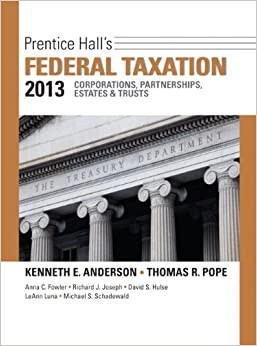 Prentice Hall's Federal Taxation 2013 Corporations, Partnerships, Estates and Trusts Plus New MyAccountingLab with Pearson Etext -- Access Card Package