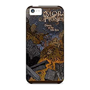 JamieBratt Iphone 5c Protector Hard Cell-phone Cases Unique Design Colorful Machine Head Band Image [KAM7028aiop]