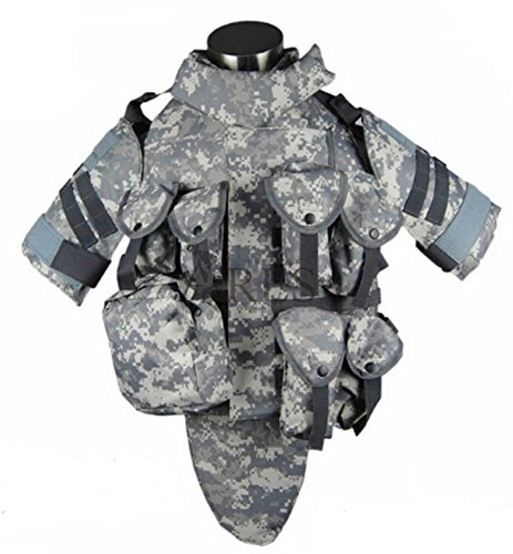 Acu Body Armor - Chariot Trading - OTV Tactical Vest Body Armor With Pouch