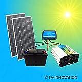 komplette 220v k hlschrank solaranlage t v. Black Bedroom Furniture Sets. Home Design Ideas