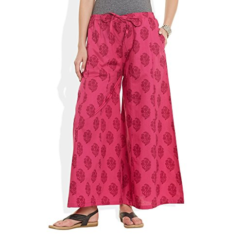 Printed Cotton Pant - 8
