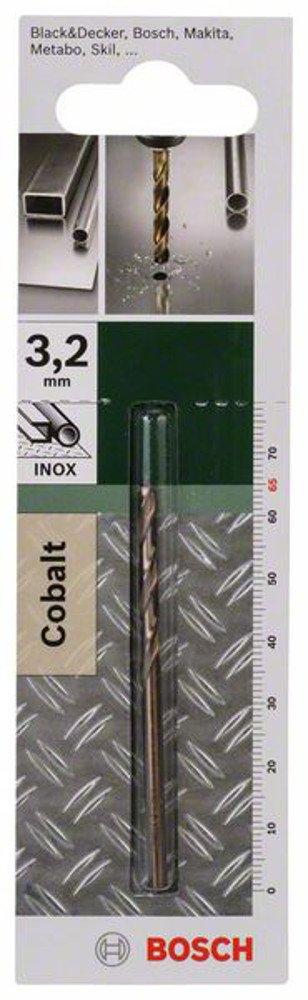 Diam/ètre 5,5 mm Bosch  2609255073 Foret /à m/étaux rectifi/é HSS-Co DIN 338 Longueur 93 mm