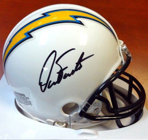Dan Fouts Signed San Diego Chargers Replica Mini Helmet - PSA/DNA Authentication - Autographed NFL Football Helmets