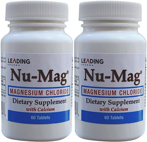 - Nu-Mag Magnesium Chloride with Calcium Enteric Coated 60 Tablets per Bottle PACK of 2