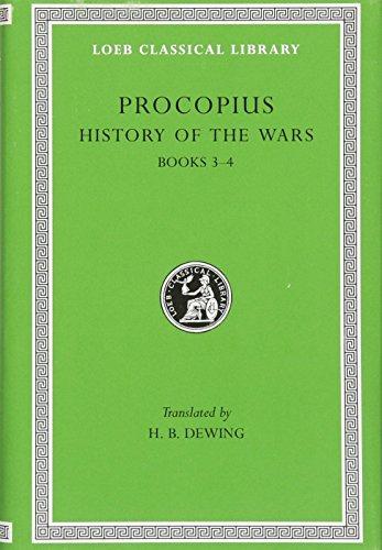 Procopius: History of the Wars, Vol. 2, Books 3-4: Vandalic War (Loeb Classical Library) (English and Greek Edition)