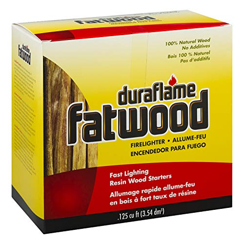 duraflame fatwood Kindling Sticks Resin Rich Firelighters - .125 cu ft