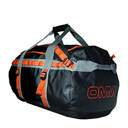 OMM オリジナルマウンテンマラソン Adventure Duffle 70 3WAYバッグ OMM011 Black/Orange -  B01FZ6IDKC