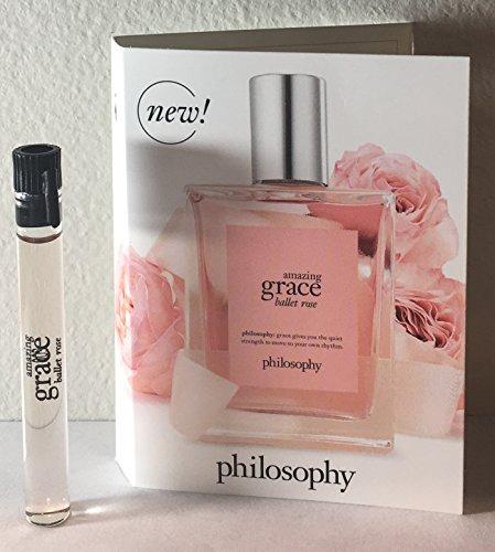 Philosophy Amazing Grace Ballet Rose EDT Sample Vial 0.05 (0.05 Ounce Edt)