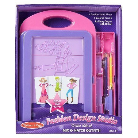 Melissa & Doug Fashion Design Studio