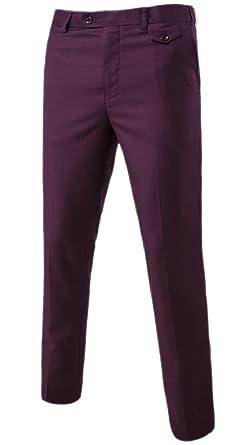 Fly Year-uk - Pantalón de Traje - para Hombre: Amazon.es ...
