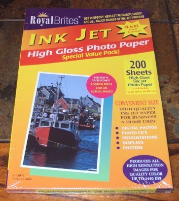 Royal Brites High Gloss Photo Paper The Best Amazon Price In
