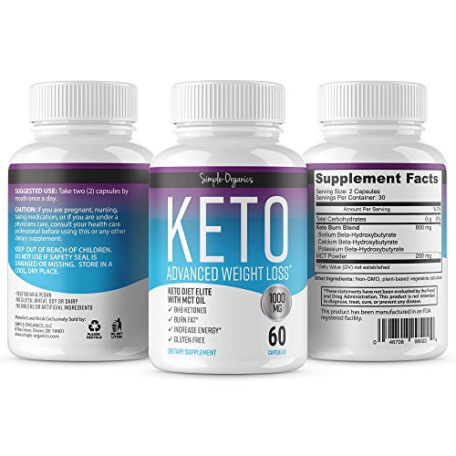 Flawless Keto Diet - Advanced Weight Loss Supplement - Ketogenic Fat Burner - Supports Healthy ...