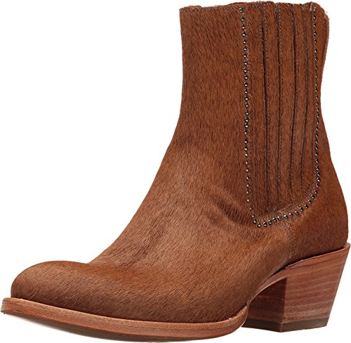 Lucchese Women's Adele Natural Hair On Calf 7.5 B US