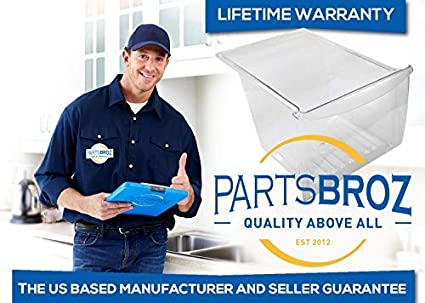 240337102 891037 240337103 Crisper Pan by PartsBroz Compatible with Refrigerators AH429854 EA429854 Replaces AP2115849 240337107 PS429854 240337108 240337109 240337105