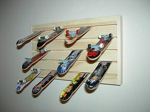 Finger Board Mini Skateboard Display Rack Storage (Tech Deck Storage)