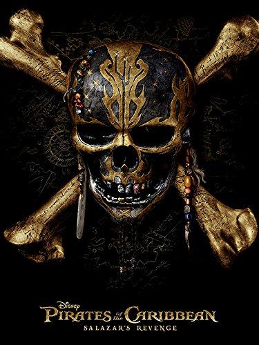 Piratas Del Caribe Calavera 60 X 80 Cm Lienzo Impresión Amazones