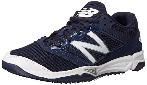 New Balance Mens T4040V3 Turf Baseball Shoe, azul y blanco, 50 D(M) EU/14.5 D(M) UK