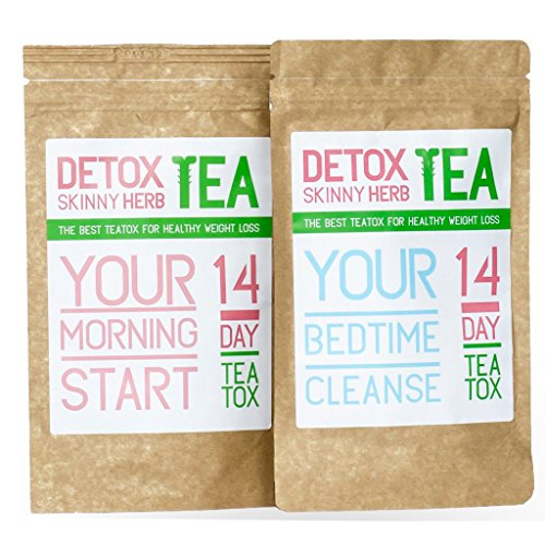 14-Day-Teatox-Detox-Skinny-Herb-Tea-Natural-Weight-Loss-TeaReduce-BloatingBody-CleanseSpeed-up-your-MetabolismAppetite-Suppressant100-NATURAL