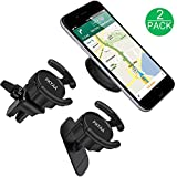 Pop Clip Car Mount, PKYAA [2 Pack] Car Phone Mount Holders, Universal Stick on Dashboard and Upgrade Air Vent Clip with 2-Level Adjustable Clamp, for Pop Stand User