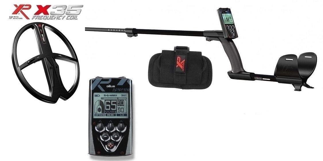 XP Metal Detector Xplorer Deus Lite RC Mando placa 9 cercametalli: Amazon.es: Deportes y aire libre
