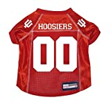 Indiana Hoosiers Premium NCAA Pet Dog Jersey w/ Name Tag XS