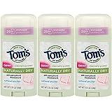 (US) Tom's of Maine Women's Antiperspirant Deodorant Natural Powder - 2.25 Oz, Pack of 3