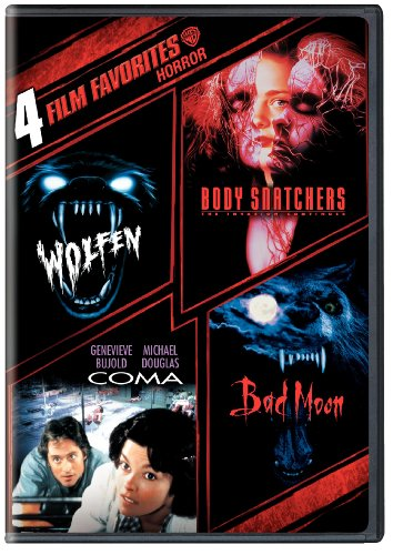 4 Film Favorites: Horror (Bad Moon, Body Snatchers, Coma, Wolfen) (The Pogues Best Of)