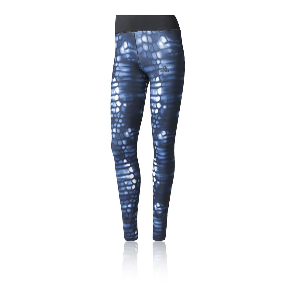 Adidas Long Tightq1aop Mallas, Mujer