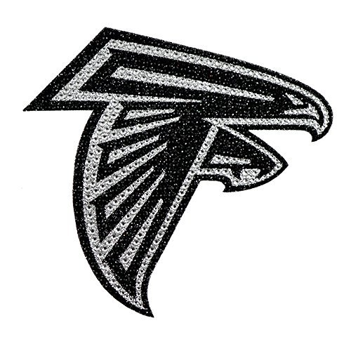 - Atlanta Falcons NFL Sports Team Logo Car Truck SUV Motorcycle Trunk 3D Bling Gem Crystals Chrome Emblem Adhesive Decal