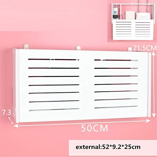 HX home Caja de Almacenamiento WiFi Router persianas 52x9.2x25cm, B: Amazon.es: Hogar