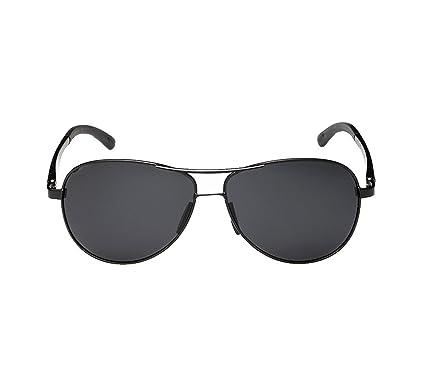 VRLEGEND gafas de sol polarizadas para hombre con lentes de efecto espejo estilo piloto UV400 gafas de ciclismo gafas polarizadas - negro: Amazon.es: Ropa y ...
