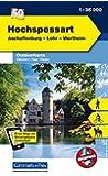 K&F Deutschland Outdoorkarte 50 Hochspessart 1 : 35 000: Aschaffenburg - Lohr - Wertheim (Kümmerly+Frey Outdoorkarten Deutschland)