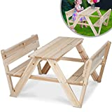 Infantastic Kindersitzgruppe Holzkindersitzegruppe Kindersitzgarnitur Kindertisch