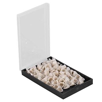 Amazon.com: Leinggg Dental Corona Moldeo 50pcs/Caja Dental ...