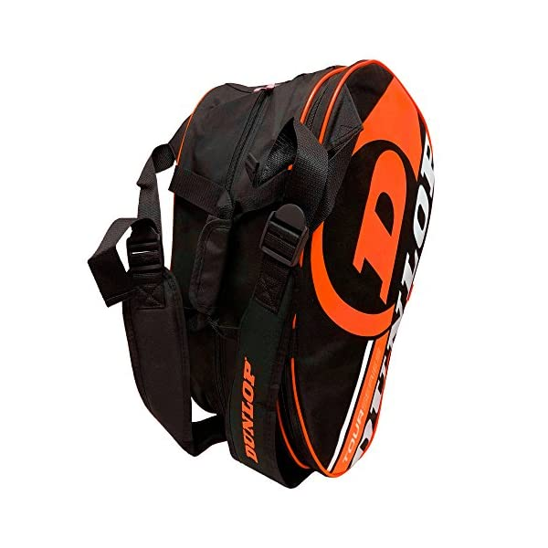 Dunlop - Borsa per racchette da paddle Tour Intro Nero/Arancione Fluo 5 spesavip