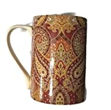 """222 Fifth Spice Road Coffee Mugs Set of 2 - 4 1/2"""""""