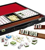 Mah Jongg in a deluxe faux leather case by Gibsons