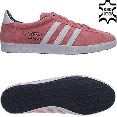 ebff0746e63fde Adidas Gazelle OG V25021 Damen Sneaker   Freizeitschuhe Rosa  Amazon ...