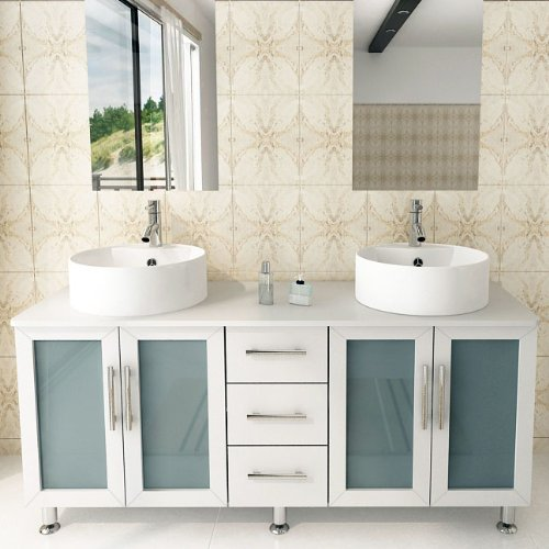 JWH Living Lune Double Bathroom Vanity price