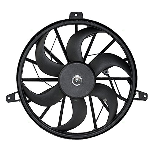 Radiator Cooling Fan Blade with Motor Replacement for Jeep Grand Cherokee Liberty SUV 52079528AB ()