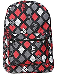 Harley Quinn Diamonds Print Backpack Standard