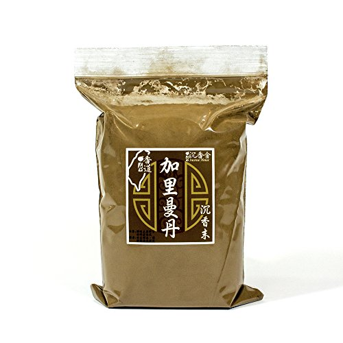 - Kalimentan Agarwood Aloeswood Incense Powder 300g