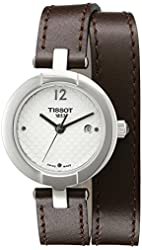 Tissot Women's T0842101601703 Pinky Analog Display Swiss Quartz Brown Watch